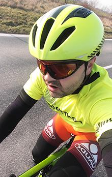 Roman Navrátil na bicykly